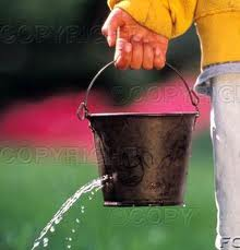do you have a marketing and sales funnel or a leaking sales bucket?