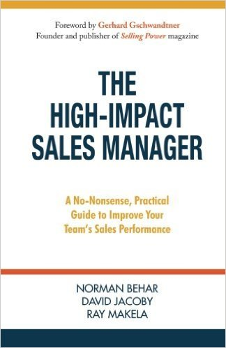 Congratulations You Are A Sales Manager…now What?